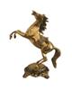 - مجسمه  برنجی طرح اسب مدل 4500