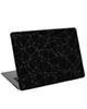 - استیکر لپ تاپ طرح black  Outline Polygon کد cl-02 برای 15.6 اینچ