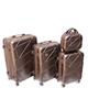 - مجموعه 4 عددی چمدان راولوو کد 001 - قهوه ای