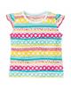 lupilu تی شرت نوزادی مدل IAN-308181 - طرح دار رنگی شاد