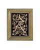 - تابلو قلمزنی طرح گل و مرغ کد 1824-2