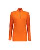 - تی شرت آستین بلند ورزشی زنانه مدل nar-001 - نارنجی ساده