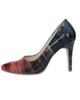 - کفش زنانه مدل 118 - چندرنگ - پاشنه بلند - مجلسی