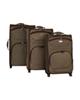 - مجموعه سه عددی چمدان تاپ استار مدل TP3 - قهوه ای