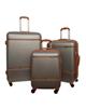 - مجموعه سه عددی چمدان امباسادور مدل AMB3 - خاکستری قهوه ای