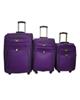 - مجموعه سه عددی چمدان مک مدل 112 - بنفش
