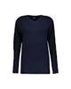 START تی شرت ورزشی زنانه مدل 2111193-59 - سرمه ای ساده - آستین بلند