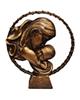 لیلپار مجسمه طرح مهر مادر مدل DKH-1030