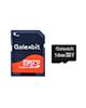 Galexbit microSDHC مدل 333X Class 10 UHS-I 50MBps 16GB + Adapter