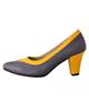- کفش زنانه کد 039 - خاکستری خردلی