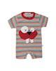 لباس نوزادی - سرهمی نوزادی پسرانه فیورلا مدل 2091128-72 - راه راه رنگی