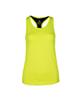 RNS تاپ ورزشی زنانه - زرد فسفری - ساده