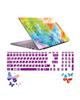 صالسو آرت استیکر لپ تاپ مدل 5019 hk با برچسب حروف فارسی کیبورد - رنگی رنگی