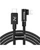 Baseus کابل تبدیل USB-C به لایتنینگ مدل MVP Elbow طول 1 متر