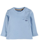 lupilu تیشرت نوزاد کد VE040 - آبی - آستین بلند