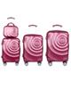 - مجموعه چهار عددی چمدان مدل 319363 - سرخابی - طرح دار