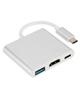 Non -Brand تبدیل Type-C به HDMI و USB3.0 و Type-C