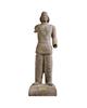 تندیس و پیکره شهریار مجسمه پلی استر مدل تندیس شاهزاده اشکانی شمی کد MO1360 سایز بزرگ