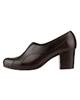 Shifer کفش پاشنه بلند زنانه مدل 5311A - قهوهای - چرم طبیعی