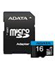 ADATA microSDHC  Premier کلاس 10 UHS-I U1 سرعت 16GB -100MBps