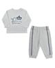 - ست تی شرت و شلوار نوزادی ببتو کد K1867W-S - سفید - آستین بلند