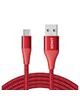 ANKER کابل تبدیل USB به USB-C مدل A8463 PowerLine Plus II طول 1.8 متر