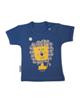 - تی شرت نوزادی لوپتو طرح شیر کد 1650 - سرمه ای