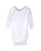 لباس نوزادی - بادی نوزادی لوپیلو کد 1407-5 - سفید ساده