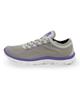 SOCCEREX کفش ورزشی زنانه مدل LSH90102-1- خاکستری بنفش- الیاف مصنوعی- کتان