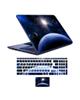 - استیکر لپ تاپ طرح spa-ce 08 به همراه برچسب حروف فارسی کیبورد