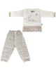 لباس نوزادی - ست تی شرت و شلوار نوزادی دخترانه کوکالو مدل خرگوش