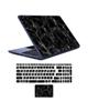 - استیکر لپ تاپ marble کد01 برای17 اینچی + برچسب حروف فارسی کیبورد