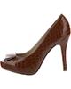 Menbur کفش زنانه مدل07094-TA -قهوه ای شکلاتی - مواد مصنوعی - پاشنه بلند