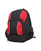 - کوله پشتی لپ تاپ مدل RWB مناسب برای لپ تاپ 17.3 اینچی-مشکی قرمز