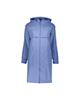 RNS بارانی زنانه مدل 109019-58 - آبی روشن - زیپ دار - کلاه دار