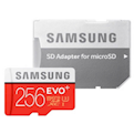 256GB - Evo Plus 2020- UHS-I U3 Class 10 microSDXC With  Adapter