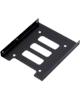 - براکت  2.5 به 3.5 اینچ مناسب برای هارد و حافظه اس اس دی