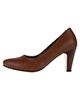 چرم یاس کفش زنانه مدل مارگون کد 001 - قهوه ای - چرم - پاشنه بلند مجلسی
