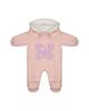 Fiorella سرهمی نوزادی دخترانه مدل 20523 - صورتی روشن - کلاه دار