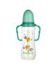 لوازم نوزاد شیشه شیر پنبه ریز مدل 3411B ظرفیت 240 میلی لیتر