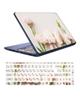 - استیکر لپ تاپ کد D01 به همراه برچسب حروف فارسی کیبورد