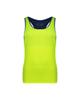 پانیل تاپ ورزشی زنانه کد 4056F - سبز فسفری