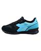 Diadora کفش مخصوص پیاده روی زنانه کد 5928 - ذغالی آبی - چرم - پارچه مش