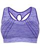 لباس زنانه نیم تنه ورزشی زنانه کد 3245-4 - بنفش روشن