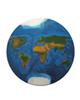 - تابلو رزین طرح نقشه جهان کد WB2-03