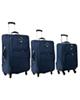 - مجموعه سه عددی چمدان تاپ یورو مدل 2019 - سرمه ای