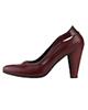 مارال چرم کفش پاشنه بلند زنانه مدل هیلاری - زرشکی - چرم طبیعی گاوی - مجلسی