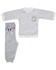 - ست تی شرت و شلوار پسرانه بارلی مدل ایتالیا 002 - رنگ طوسی