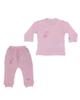 لباس نوزادی - ست 2 تکه لباس دخترانه وان بای وان مدل 02 -F120 - صورتی
