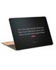 - استیکر لپ تاپ طرح dont worry about peopleکد c-245 برای 15.6 اینچ